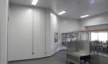 Modubuild Cleanroom Project Danone 1