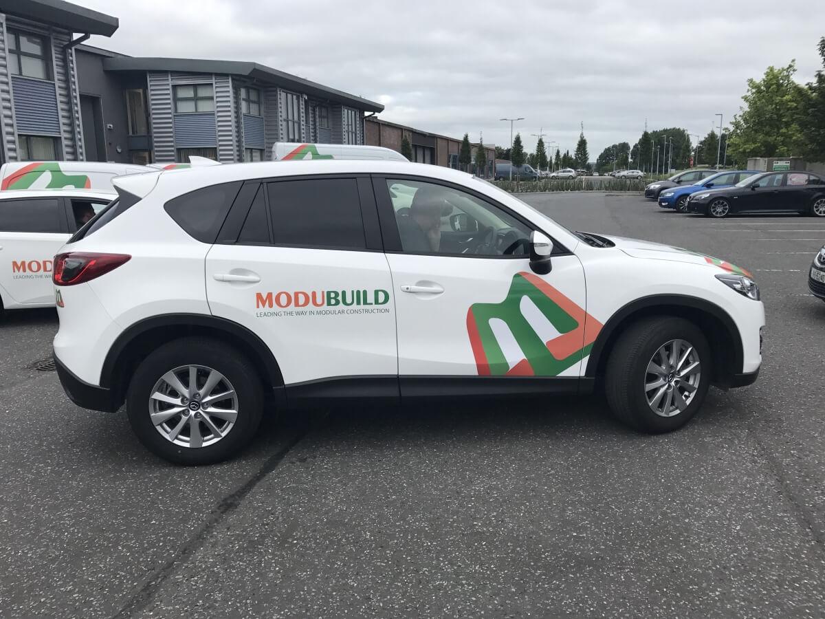 Modubuild Branded Vehicles