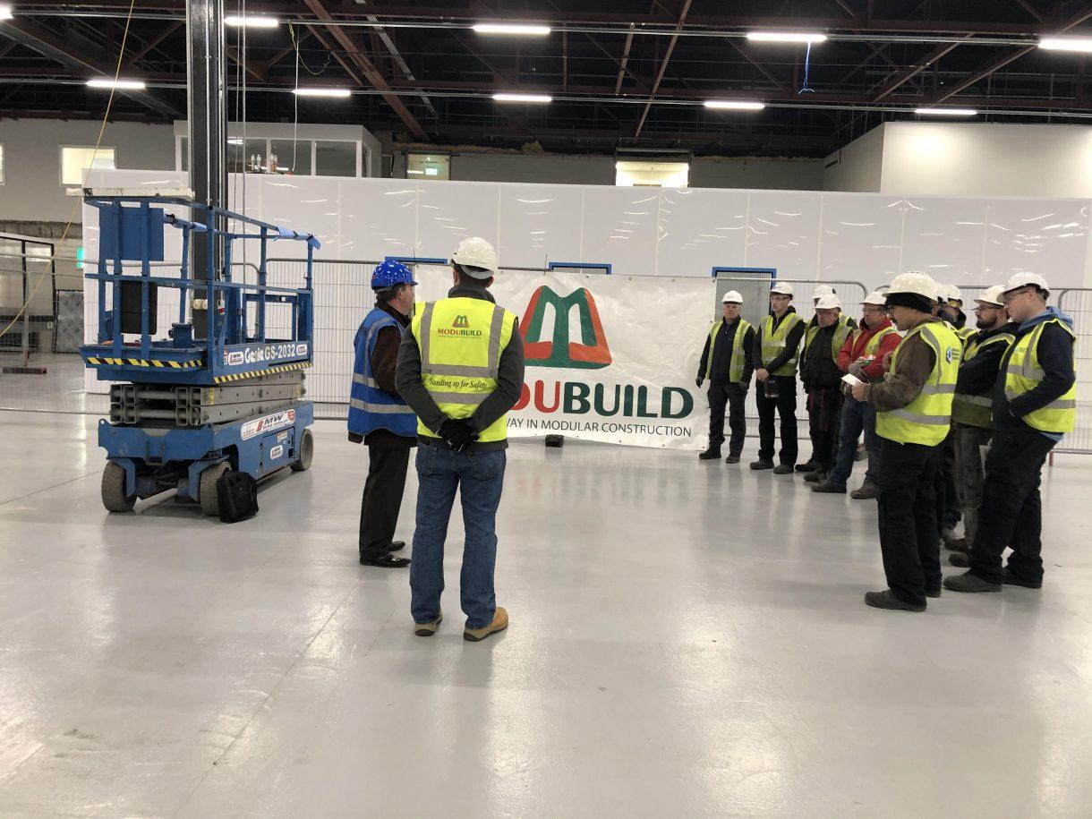 Construction Safety Week Modubuild