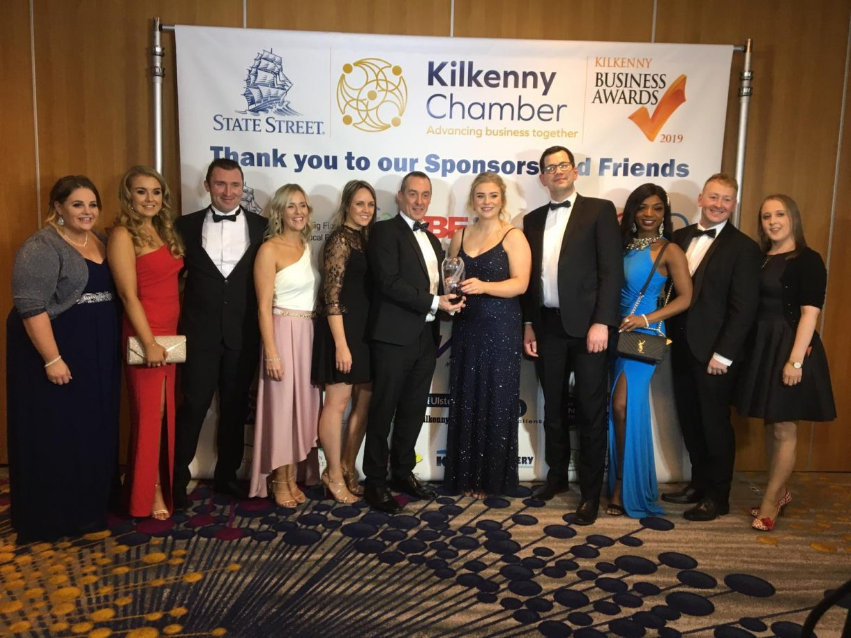 Modubuild WIns Employer of the Year 2019